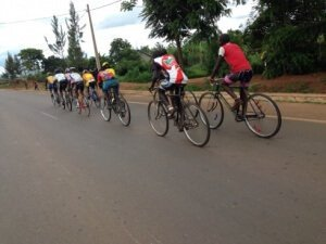 African Kit Donation Cyclists